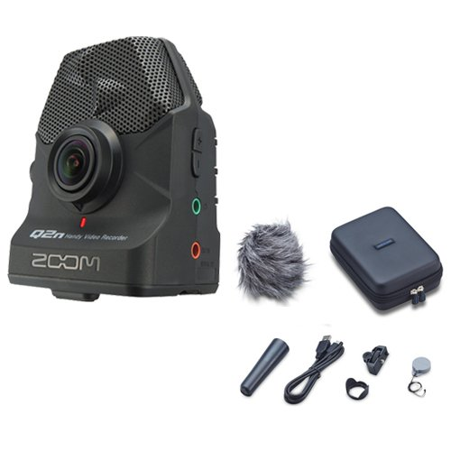 Zoom Q2n Handy Video Recorder with Q2N Accessory Pack by Zoom