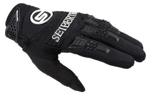 Seibertron Herren Handschuhe Dirtpaw Race Fahrrad Handschuhe sporthandschuhe für Radsport MTB Outdoor Sport Gloves Schwarz L