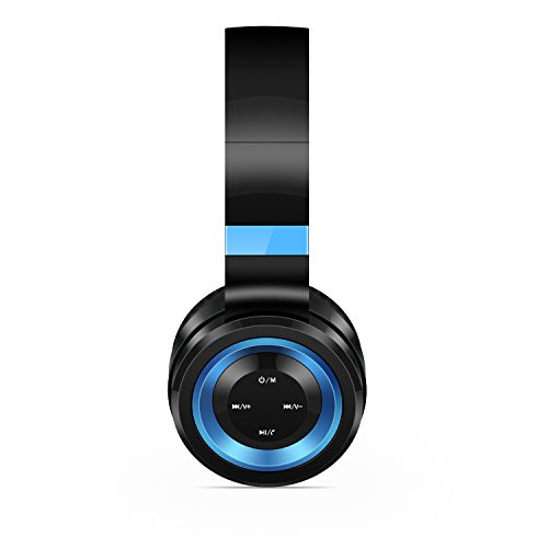 bluetooth headphone 2 wireless headphones sound intone p6 stereo bluetooth h. Black Bedroom Furniture Sets. Home Design Ideas