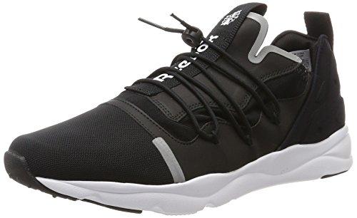 Homme Noir white black Basses X Reebok Furylite Sneakers znUHwqFxpP