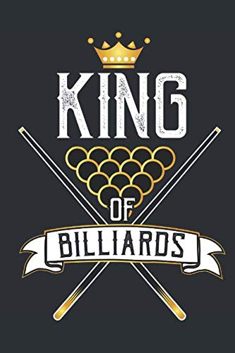 T-shirt Light Evolution - King of Billiards: Journal for people that love playing billiards, snooker or pool