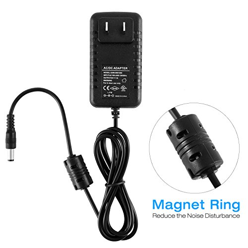Large Product Image of Donner DPA-1 Pedal Power Supply Adapter 9V DC 1A Tip Negative 5 Way Daisy Chain Cables for Effect Pedal