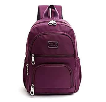 Sports Travel Waterproof Nylon Backpack Small Lightweight Women Backpacks Casual Strong Daypack For Girls