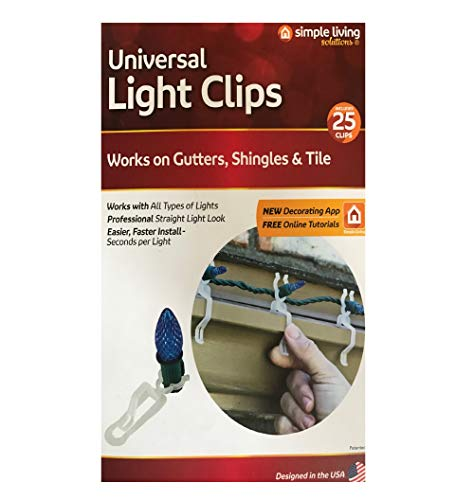 Universal Light Clips - 25 Clips