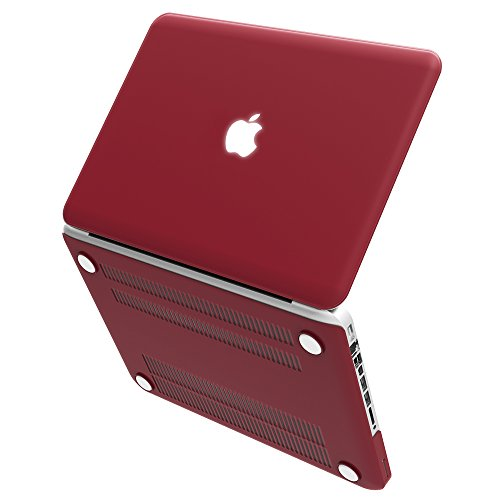 "UPC 633841662931, iBenzer Macbook Pro 13"" with CD-ROM Plastic Hard Case, (Red Brown Wine)"