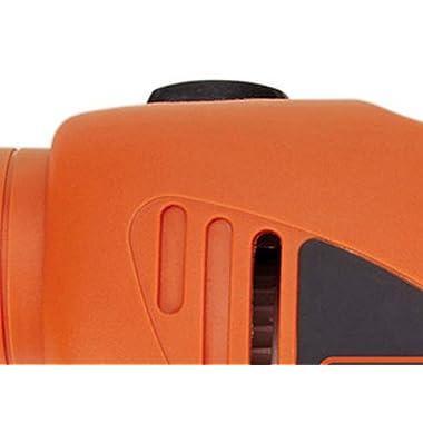 BLACK+DECKER HD455KA 10mm 550 Watt Impact Drill Kit, Engineered Plastic (Orange, 41-Pieces) 12