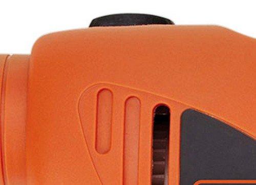 BLACK+DECKER HD455KA 10mm 550 Watt Impact Drill Kit, Engineered Plastic (Orange, 41-Pieces) 5
