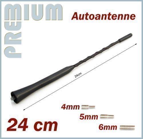 Varilla Coches Antena Universal 24cm Varilla Corta con M4 M5 ...