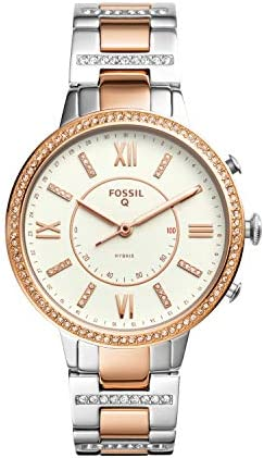 Fossil Virginia Two Tone Stainless Smartwatch product image