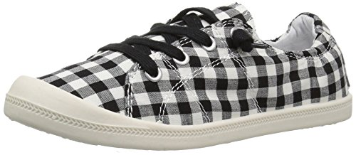 Fashion Sneaker Women's Gingham Girl Madden Black Baailey qI6Pnt