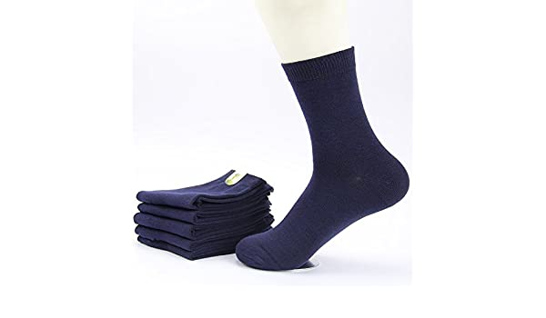 Amazon.com : GAOLIM Cotton Socks Socks Thickening Winter Outdoor Breathable Socks And 5 Pairs, Navy : Sports & Outdoors