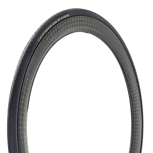 Hutchinson New 2018 Fusion 5 All-Season Tubeless and Tubeless Ready Bike Tire with The New ElevenSTORM Compound (700 x 28 Tubeless Ready) ()