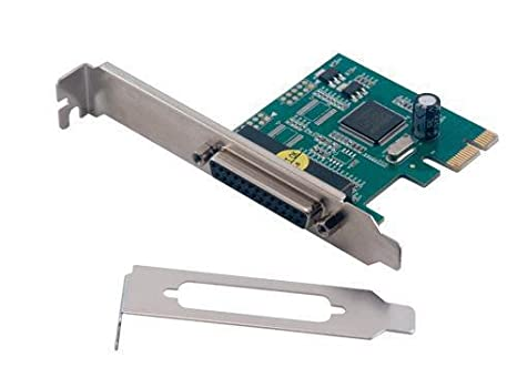 MCL Carte PCI express parallèle - 1 port DB25 femelle (normal + LP ...