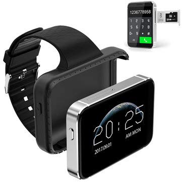 i5S 2.2-inch MTK2502C Pedometer TF Card Extend MP3 MP4 Camera Smart Mobile Watch - Smart Watch & Band Watch Phone - (Black)
