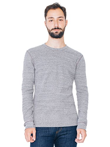 american-apparel-mens-waffle-thermal-crewneck-long-sleeve-t-shirt-charcoal-neps-small