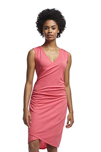 Icebreaker Women's Aria Tank Dress, Medium, Grapefruit by Icebreaker