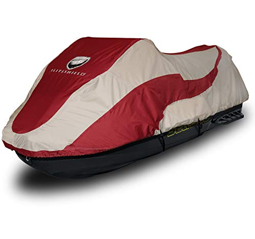 (EliteShield Trailerable PWC Watercraft Jet Ski Cover PWC Jet Ski Cover Fits from 116