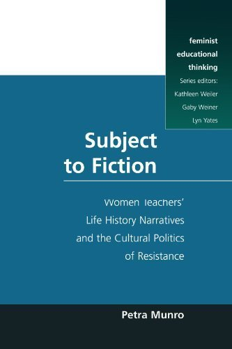Subject to Fiction (Feminist Educational Thinking (Paperback)) by Petra Munro (1998-01-04)