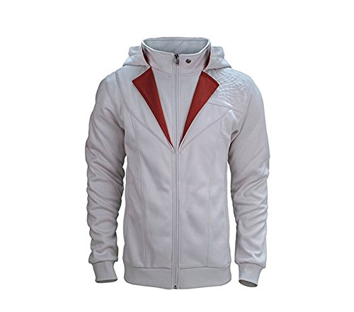 Assassin's Creed Hoodie Jacket (White and Grey) - 1