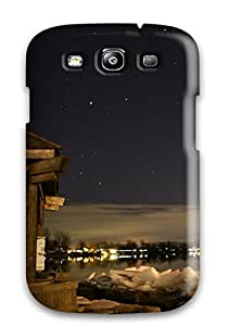 Durable Defender Case For Galaxy S3 Tpu Cover(quai Municipal De Stmarcsurrichelieu)