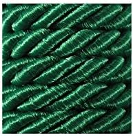 """Sewing 34 Colours 0.3/"""" Craft e-kurzwaren 7mm Sheen Twisted two wires Decoration Creative Cotton String Cord 5m  Satin Twisted Cord Polypropylene"""