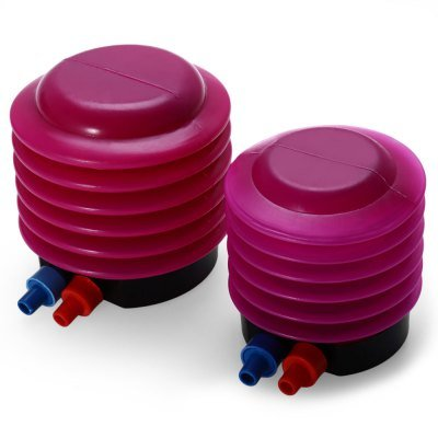 Generic plástico pie inflador de mano bomba de aire para pelota ...