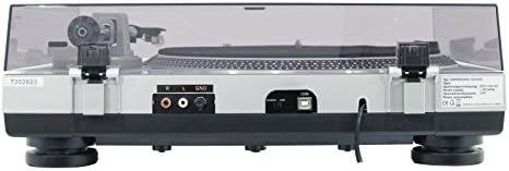 Omnitronic 10603061 - Tocadiscos para equipo de audio, plateado ...
