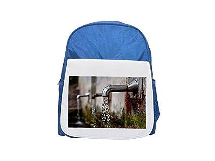 Grifo dispensador de agua, pluma estilográfica, Impreso Kid s azul mochila, para