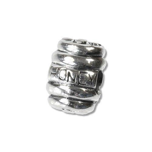 Carlo BIAGI Bead 925 Silber Honigtopf Armband Anhänger BBS067