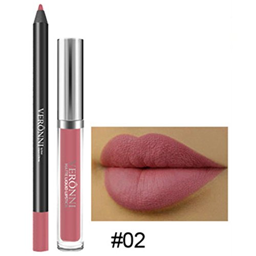 Long Lasting Lipsticks, Vanvler Liquid Waterproof Lipgloss +