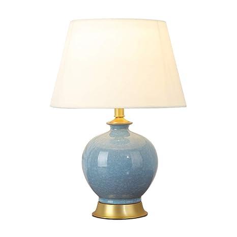YINUO lámparas de mesa Estilo chino Cobre Ver Tabla Lámpara de ...