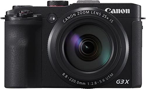 Canon PowerShot G3X - Cámara digital de 20.2 MP (zoom 25x ...