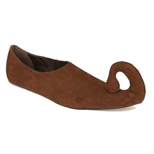 Brown Renaissance Shoes (Women's Suede Renaissance Shoes Size: Shoe Size 7-8: Color: Brown)