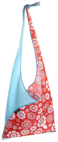 Envirosax Slingsax Messenger Bag,Daisy Blue,one size Envirosax Red Bag