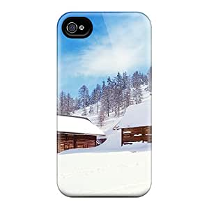 Ultra Slim Fit Hard JosareTreegen Cases Covers Specially Made For Iphone 6- Wonderland Snow Nature
