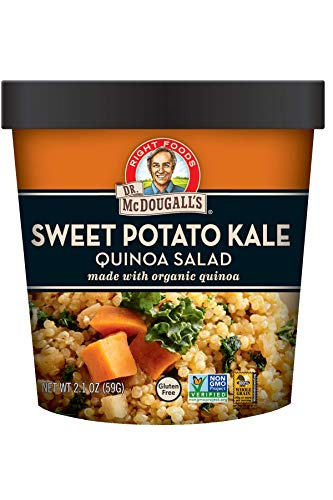 Dr. McDougall's Sweet Potato Kale Quinoa Salad, 2.1 Ounce by Dr. McDougall's