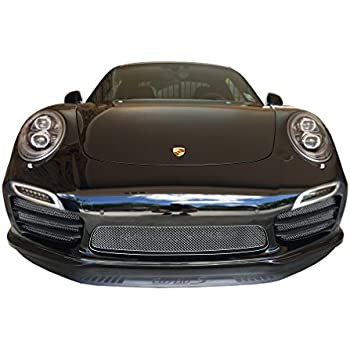 Zunsport Compatible Porsche 991 Turbo S Gen 1 - Full Grille Set - Silver Finish (