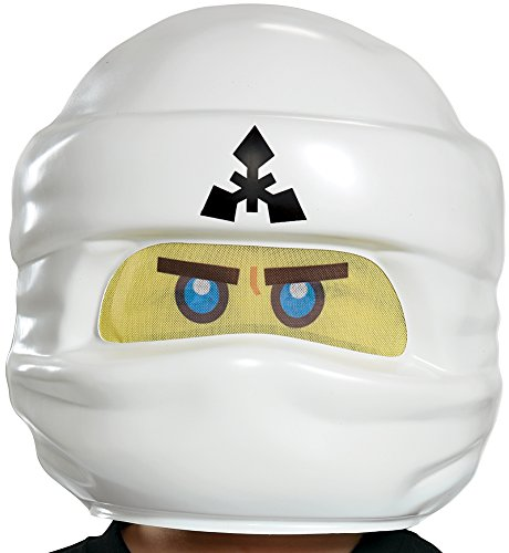 Zane LEGO Ninjago Movie Mask, One -