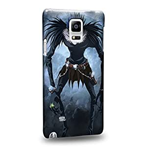 Case88 Premium Designs Death Note Ryuk Death God 1226 Protective Snap-on Hard Back Case Cover for Samsung Galaxy Note 4