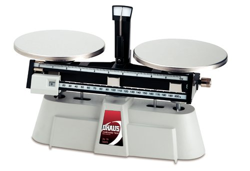 - Ohaus 1550-SD Harvard Trip Mechanical Dual Beam Balances, 2000g Capacity, 0.1g Readability
