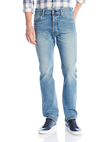 Levi's Men's 501 Original Fit Jean, The Ben/Stretch, 42Wx32L