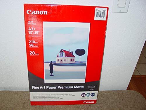 Canon Premium Paper Heavyweight - Canon Photo Paper Premium Matte, 13 x 19 Inches, 20 Sheets (1263B007)