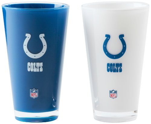 NFL Indianapolis Colts 20-Ounce Insulated Tumbler - 2 Pack