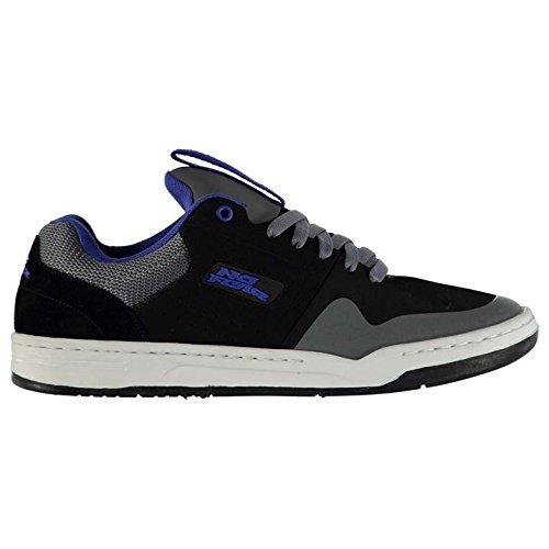No Fear Primo Herren Skate Schuhe Turnschuhe Sportschuhe Sneaker Skater Black/Char/Blue