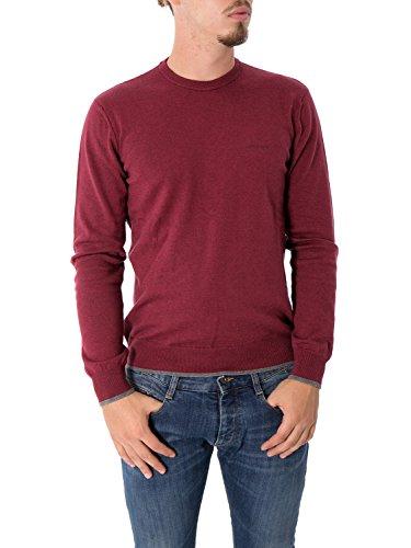 Maglia Uomo Armani Jeans 2xl Bordeaux 8n6m95 6m13z Autunno Inverno 2016/17
