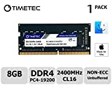 Timetec Hynix IC Apple 8GB DDR4 2400MHz PC4-19200 SODIMM Memory Upgrade for iMac Retina 4k/5K 21.5-inch/27-inch Mid 2017 (Single Rank 8GB)