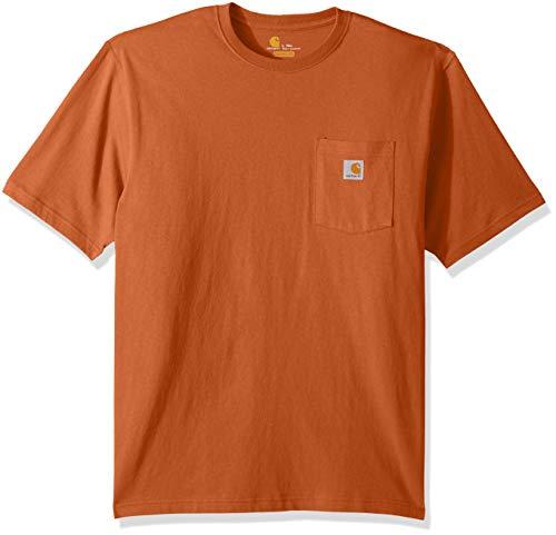 Carhartt Mens Big & Tall K87 Workwear Pocket Short Sleeve T Shirt