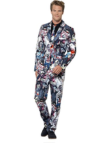 Zombie Suit (Men's Halloween Stand Out Zombie Suit)