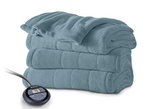 microplush heated blanket
