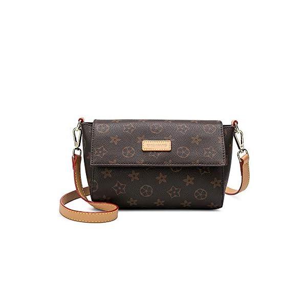 49cb69e6bed3 Olyphy Fashion Mini Shoulder Purses for Women, Designer Leather Crossbody  Bag Handle Handbags Bags